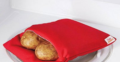 Potato Express (2 Pieces) - Microwave Bags for Baking Potatoes (Video)