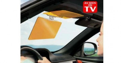 HD Visor for Car - Easier Driving for Day and Night (Video)