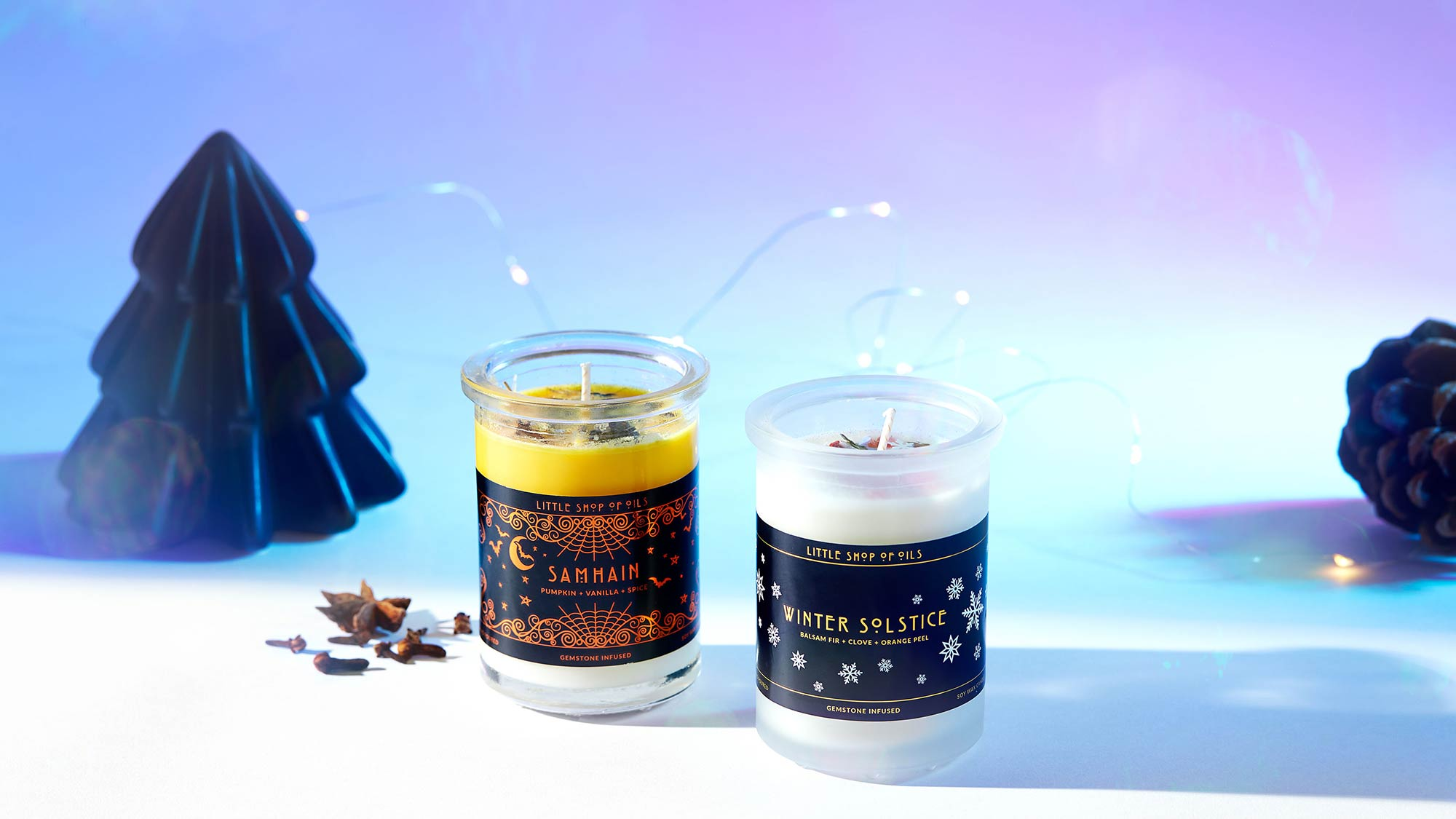 little shop of oils holiday candles