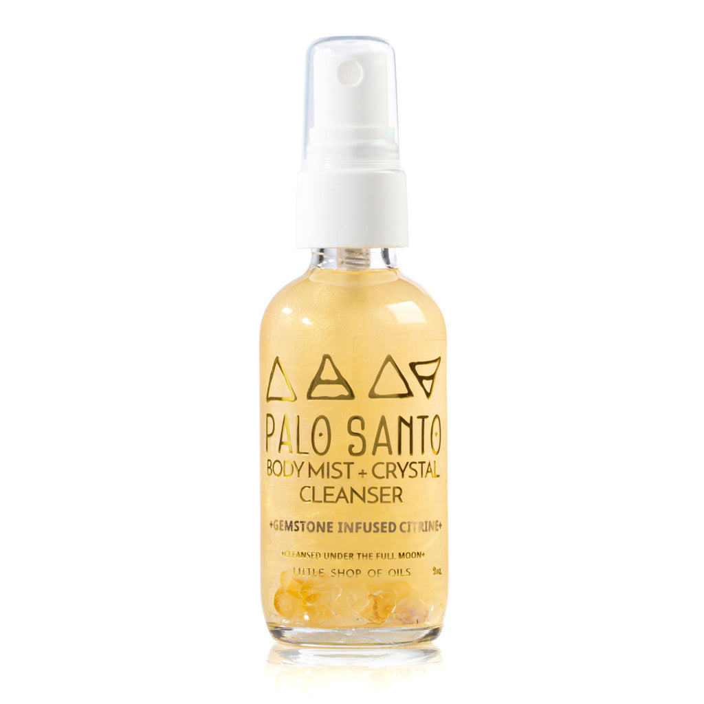 Palo Santo Mist / Body + Crystal Cleanser