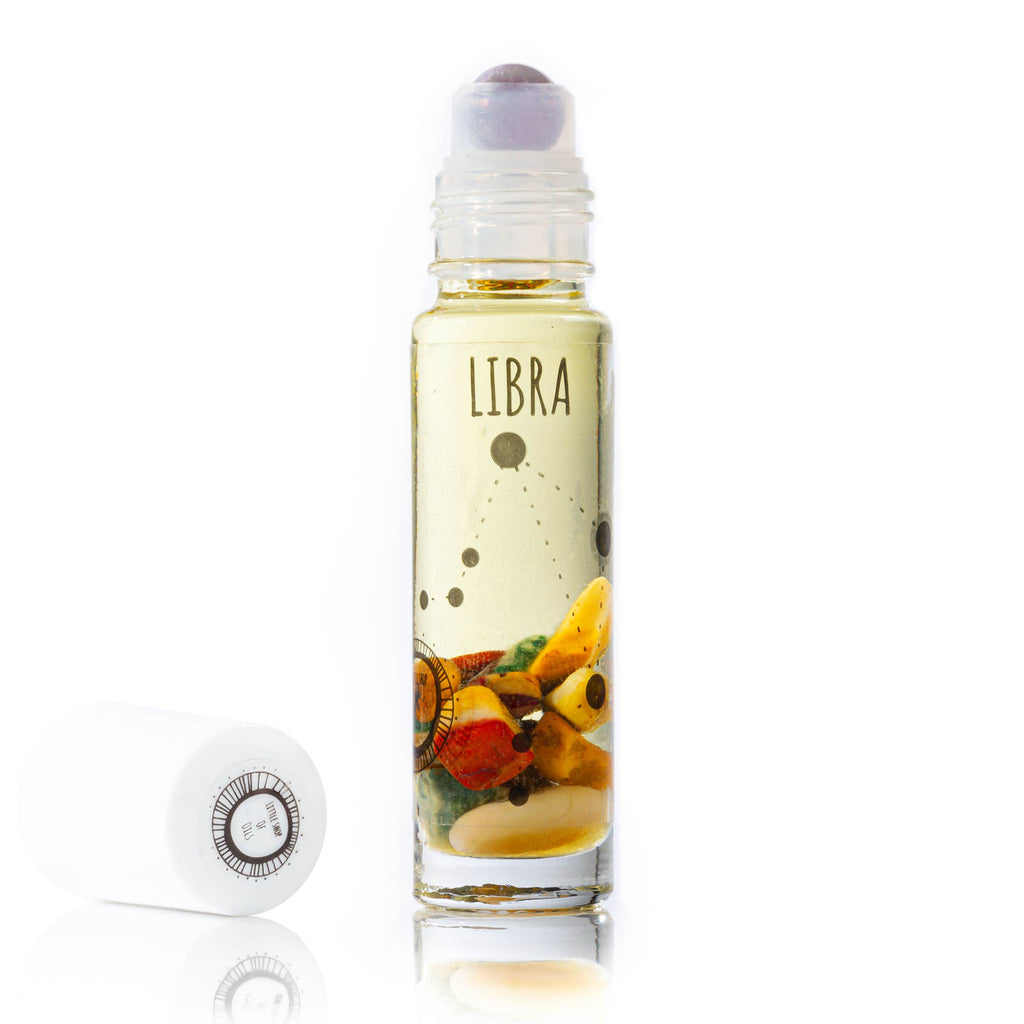 Libra Roller - Little Shop of Oils Essential Oils Crystal Gemstone Infused Apothecary