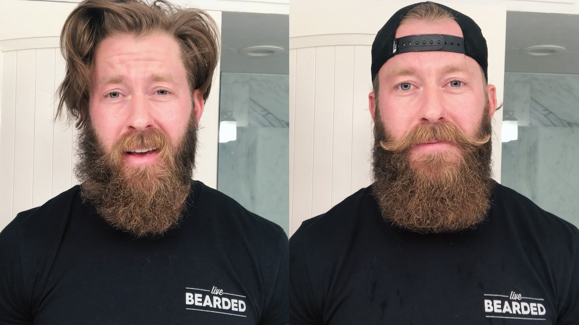 Enjoyable How I Style My Beard Spencer Bryce Live Bearded Natural Hairstyles Runnerswayorg
