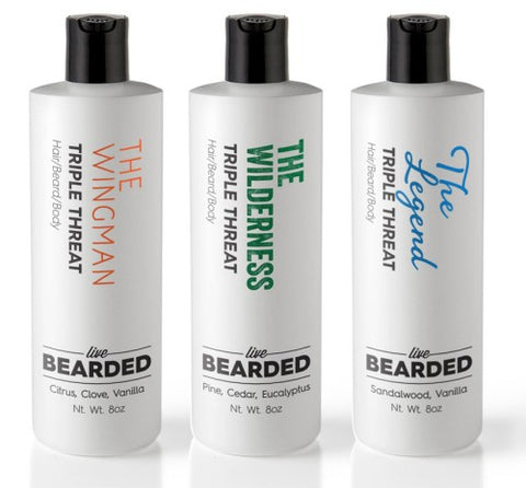 Beard Wash by Live Bearded