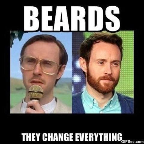 Beards change everything