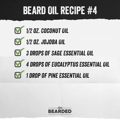 Beard Oil Recipe List You Can Make At Home (25 and Counting