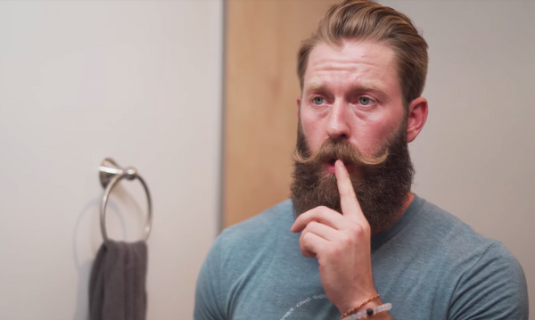 how to trim a moustache