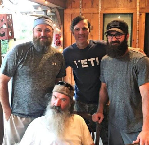 Jase Robertson Clean Shave