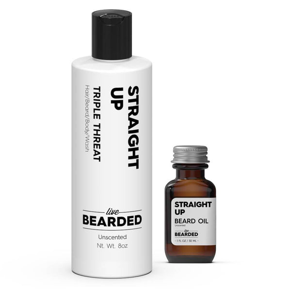 Basics Beard Kit Straight Up