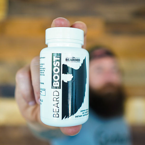 Beard Boost with Biotin for Beard Growth