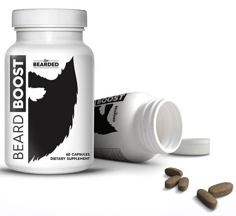 Beard Growth Vitamins - Beard Boost