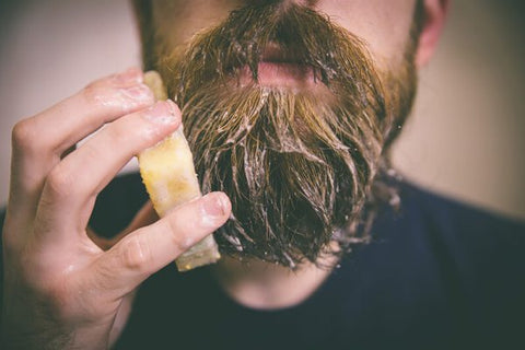 Don't wash your beard with bar soap!