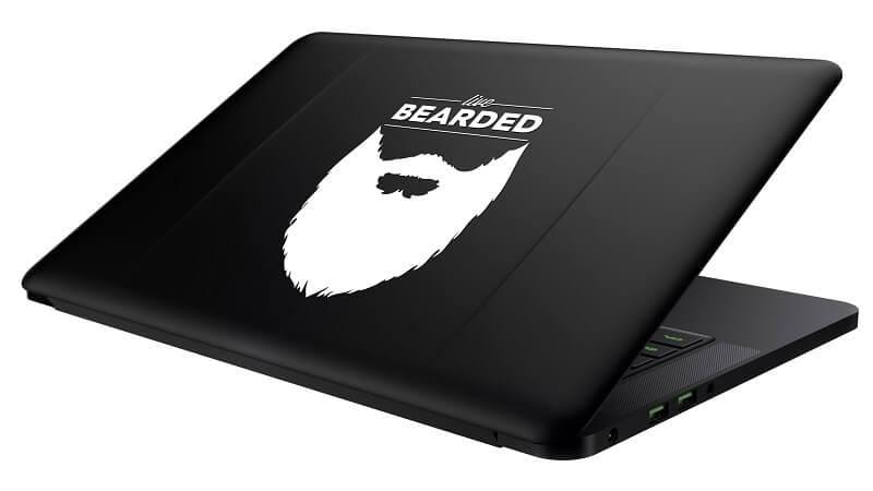 Live Bearded Decal