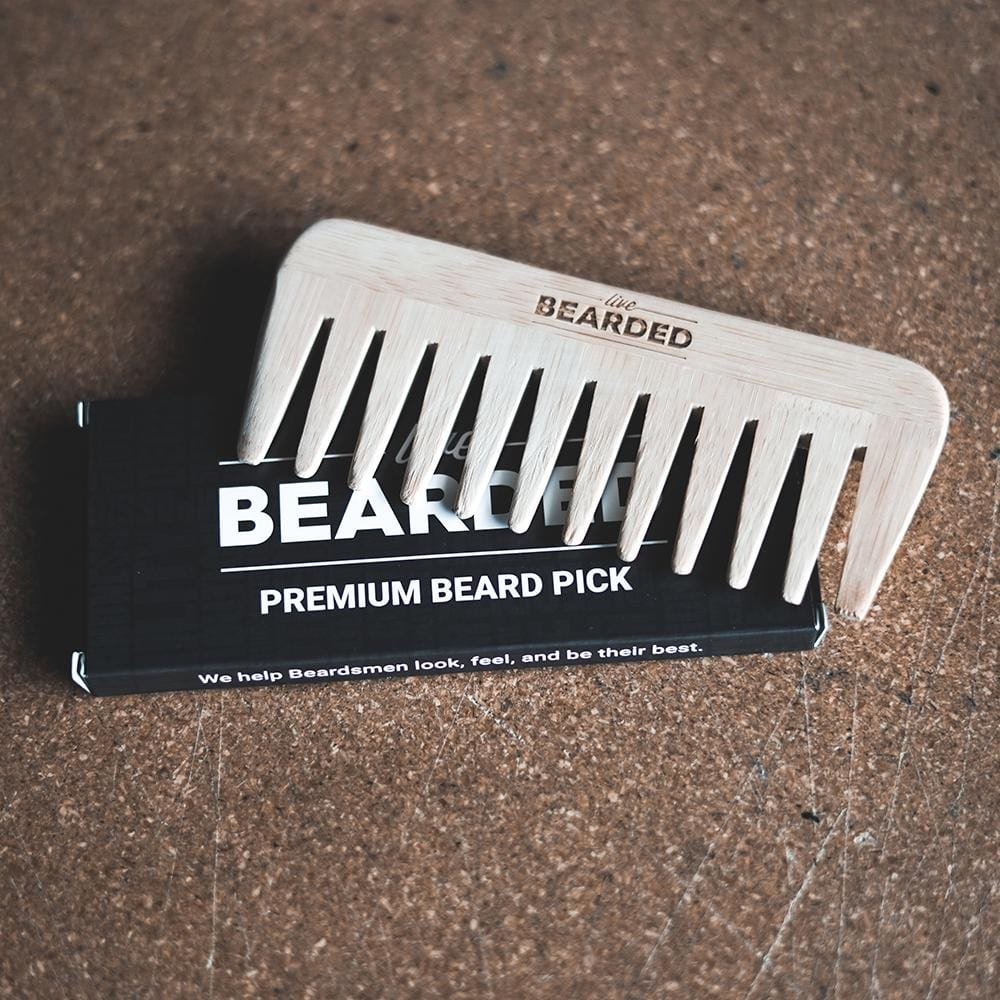 Beard Pick - Wide Tooth