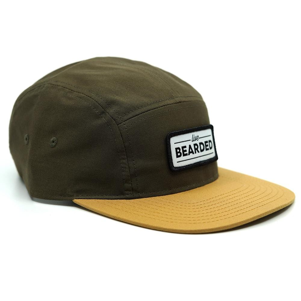 Limited Edition 5 Panel Green and Gold Hat