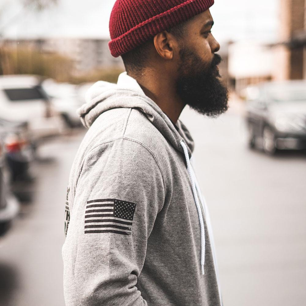 Beard Cloud Hoodie - Heather Grey