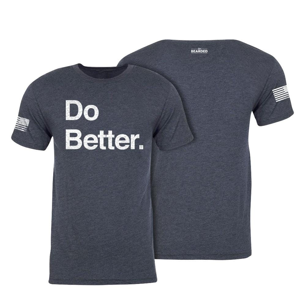 Do Better Tee - Vintage Navy Blue