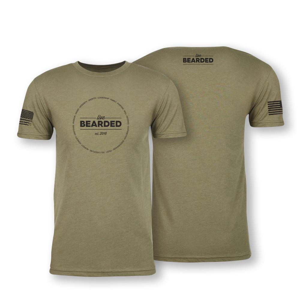 Lifestyle Values Tee - Military Green