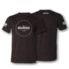 Lifestyle Values Tee - Charcoal Black