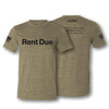 Rent Due T-Shirt - Olive