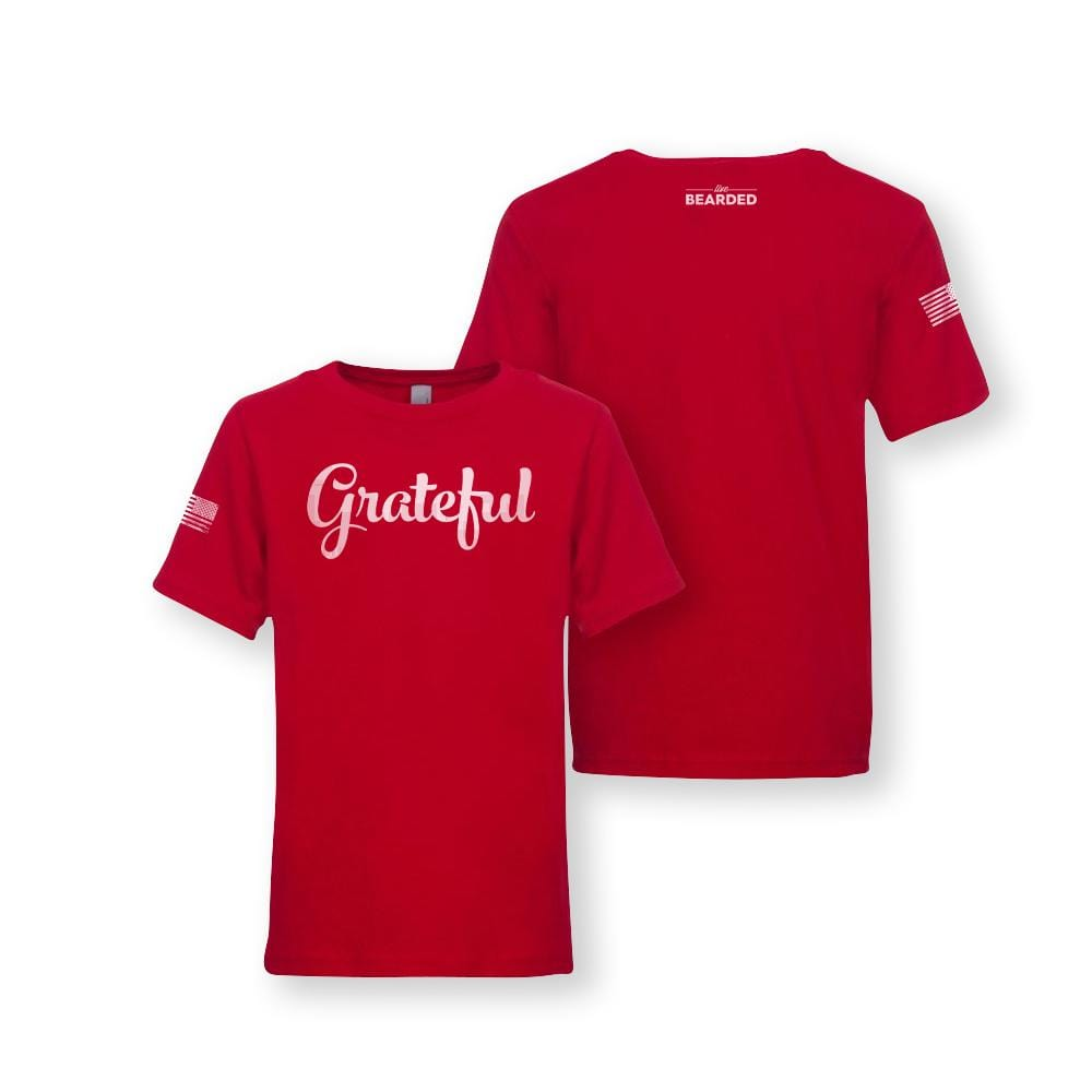 Kids Grateful Holiday Limited Edition - Red