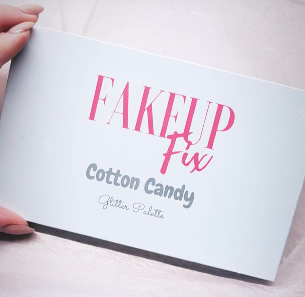 "FakeupFix ""Cotton Candy"" Glitter Palette (NEW LOOK)"