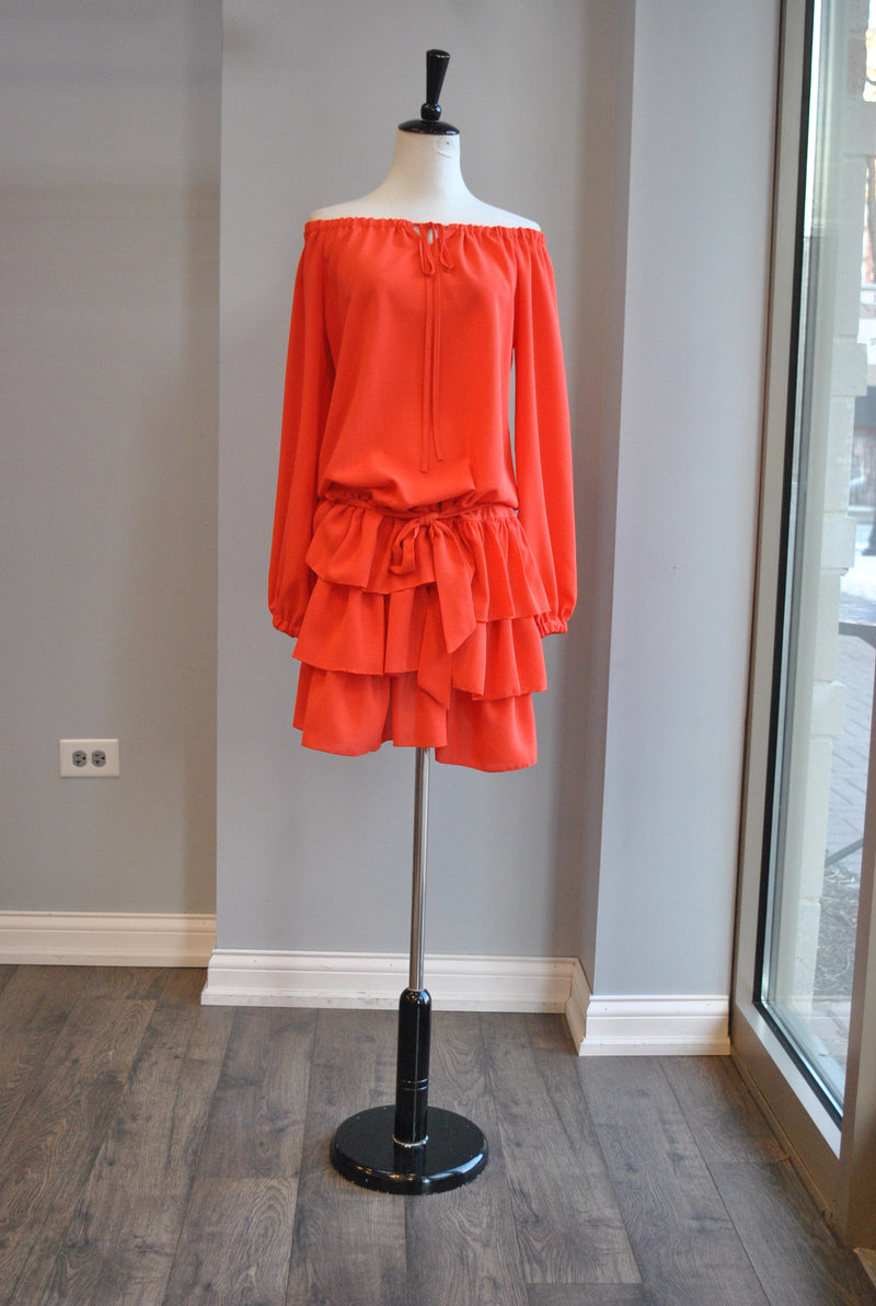 BLUSH PINK SWEATER WITH PEARLS AND BELL SLEEVES