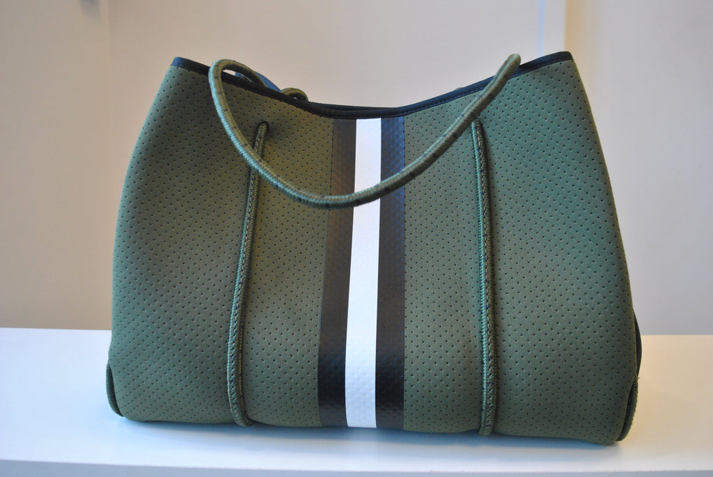OLIVE GREEN OVERSIZED TOTE