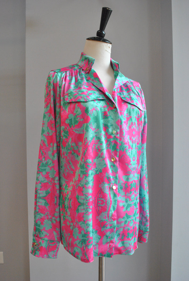 LIGHT GREY FAUX FUR VEST