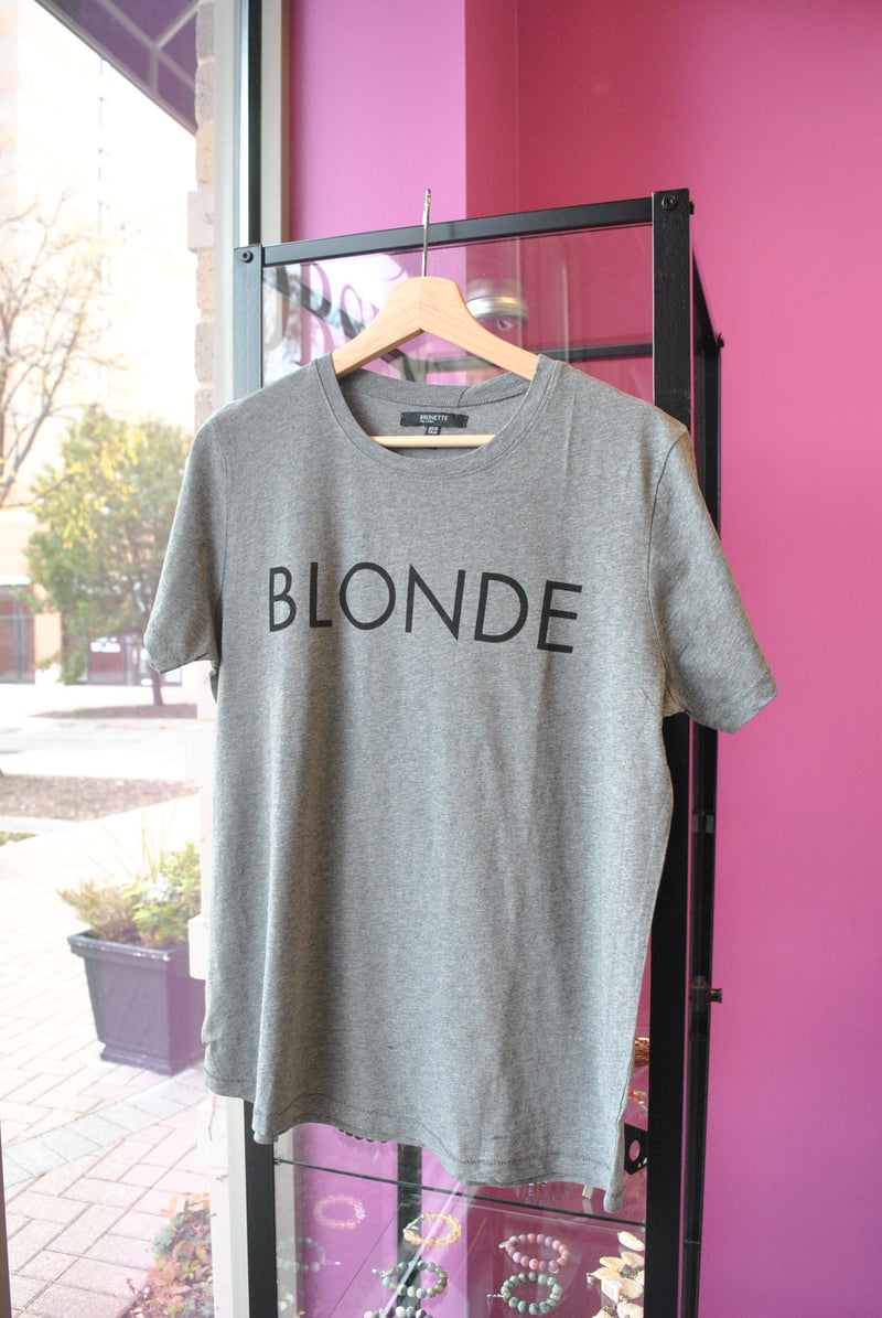 T-SHIRT BLONDIE GREY