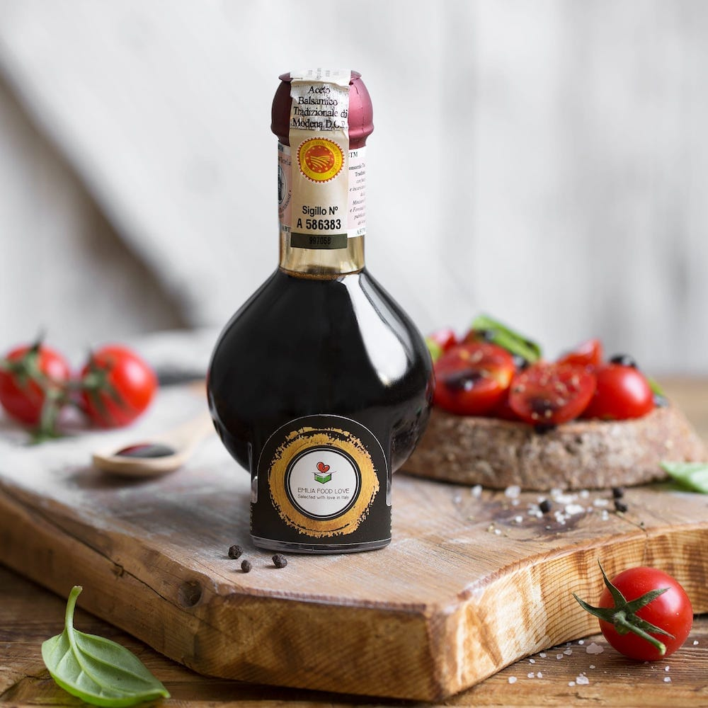 Traditional DOP Balsamic Vinegar of Modena Aged (Affinato)