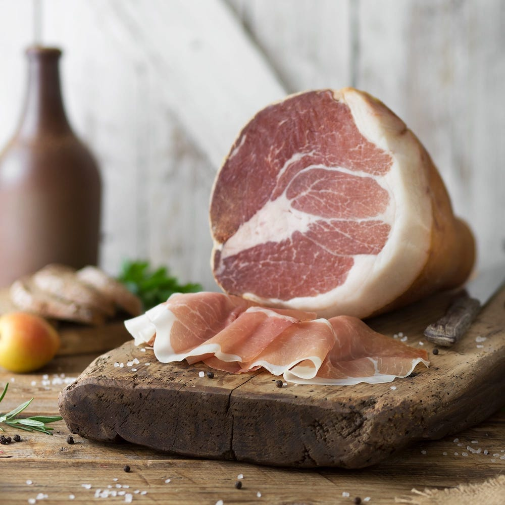Culatello with Rind (Culatta)