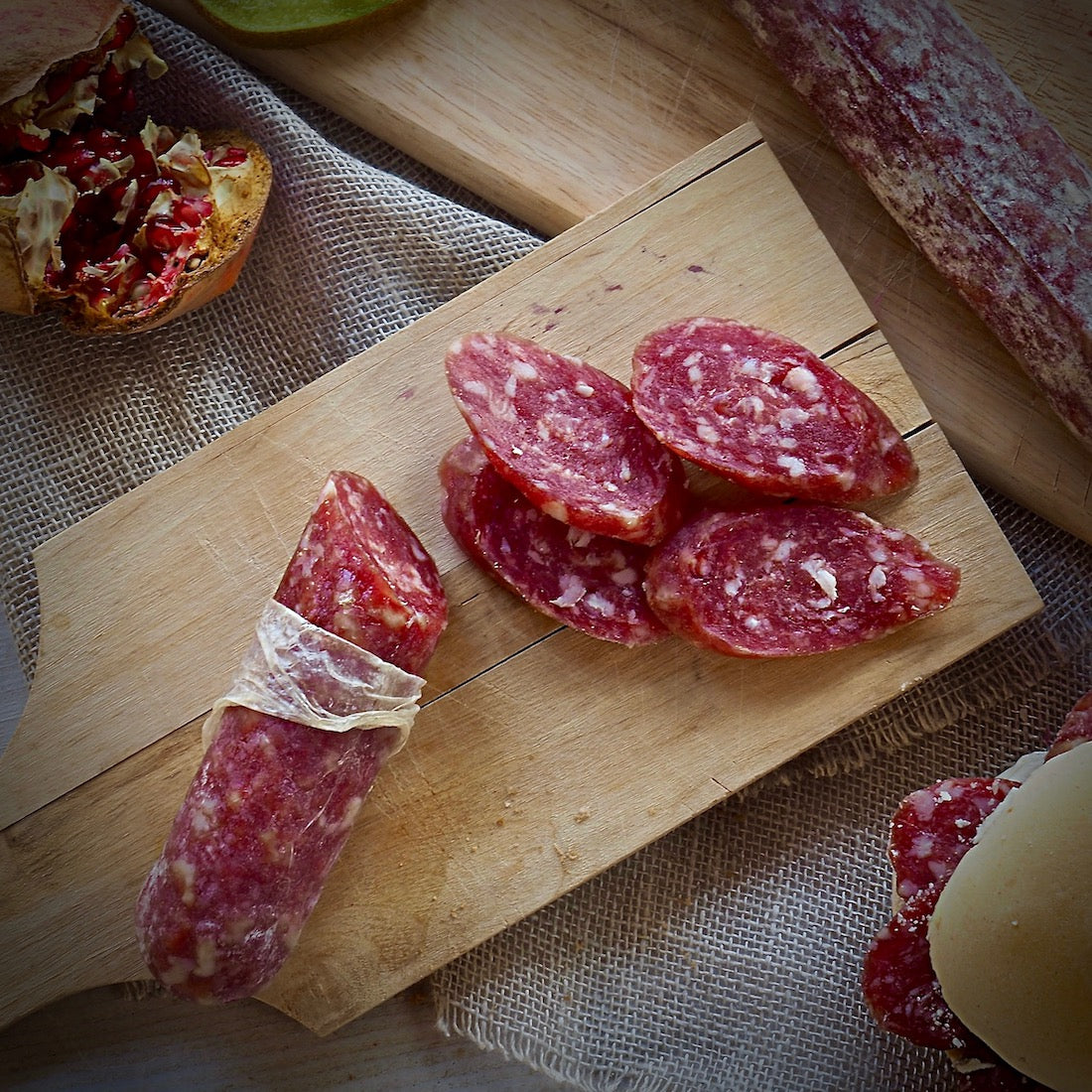 Strolghino salami of Culatello - EMILIA FOOD LOVE