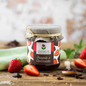 Strawberry and Chocolate Jam
