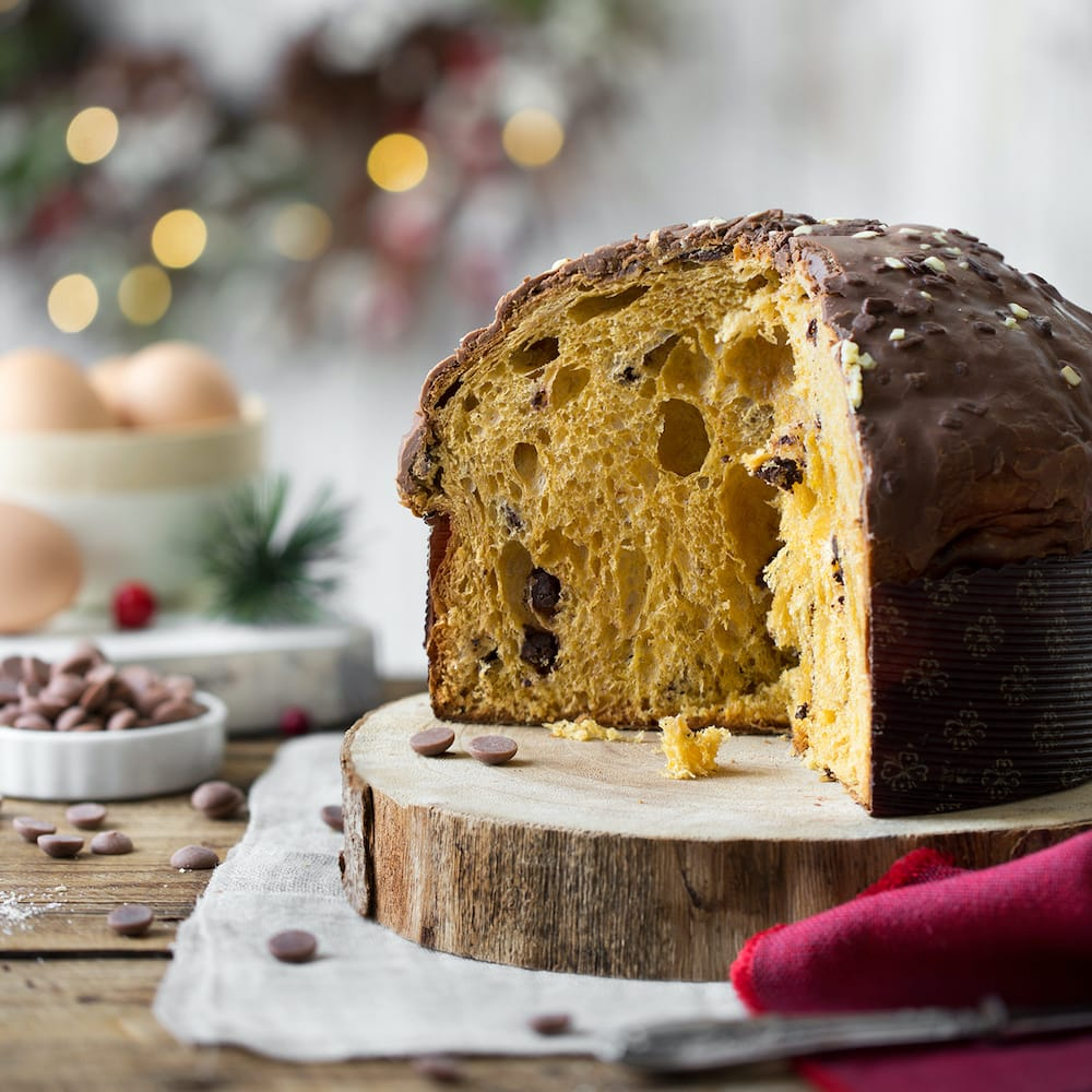 Panettone with Chocolate Chips