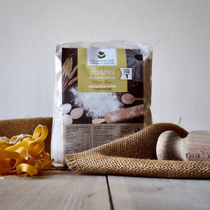 Wheat Flour Type 1 Stone Ground - 3 pieces (3 KG) - EMILIA FOOD LOVE