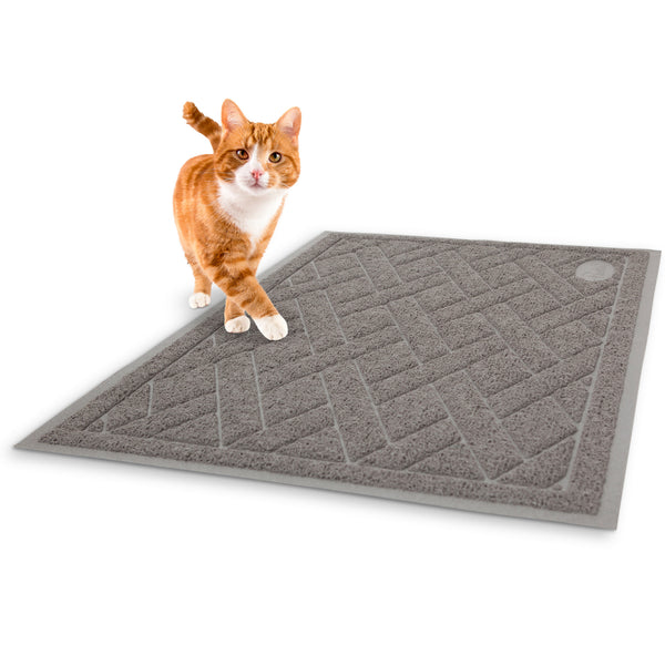 Pawkin Phthalate Free Cat Litter Mat, X-Large