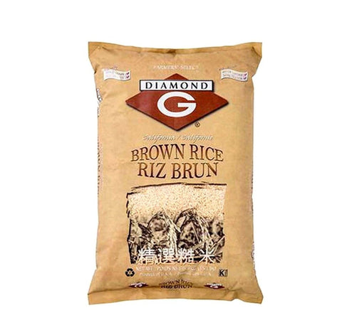 Grain- Brown rice 20lb (Diamond G)