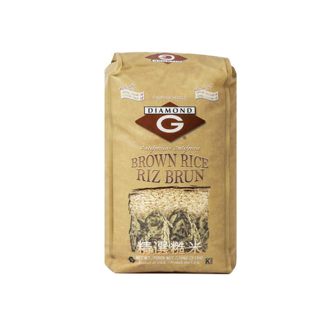 Grain- Brown rice 5lb X 8