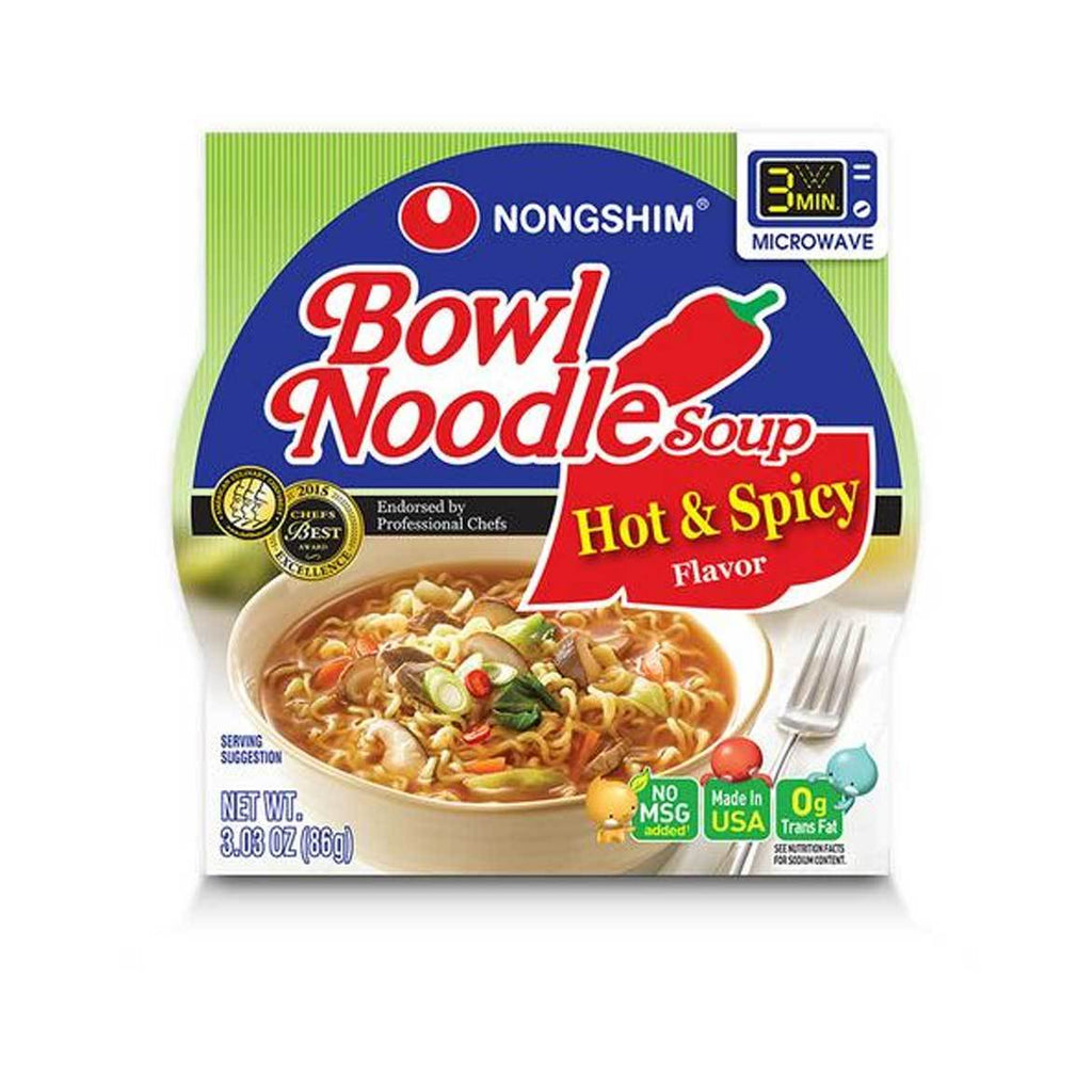 Nongshim Bowl- Hot&Spicy