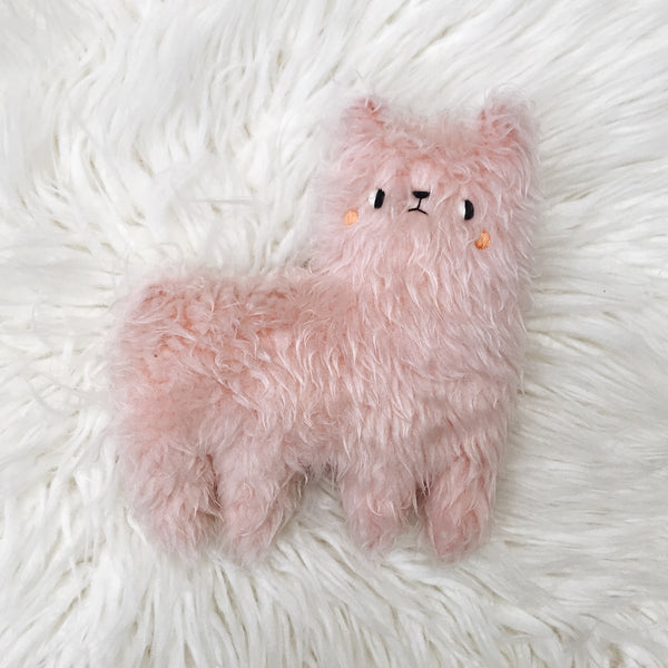 Rose the Fuzzy Alpaca - sleepy king