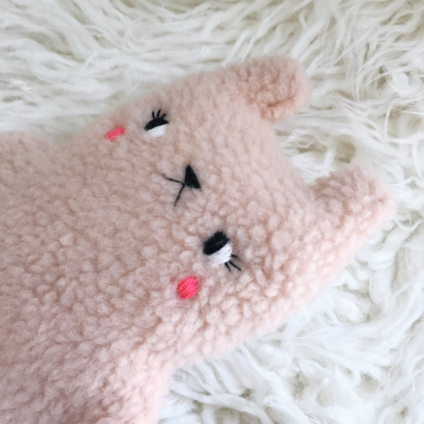 Strawberry Cream the fuzzy bear - Pre Order - sleepy king