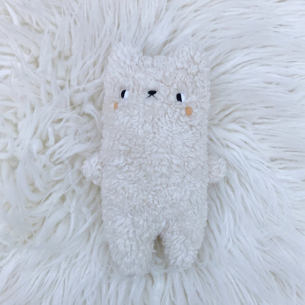 Marshmallow the baby bear - Organic Cotton - sleepy king