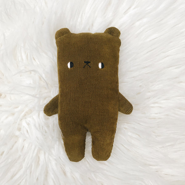 Lentil Bear - Large - Made To Order - sleepy king