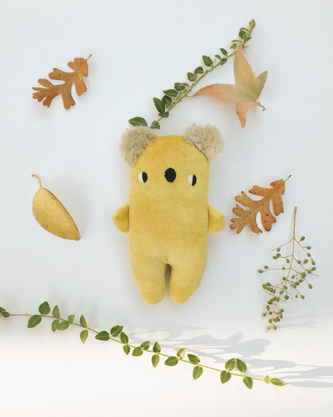 Yellow the baby koala - Made to Order - sleepy king