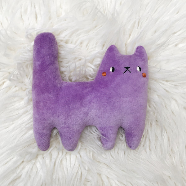 Lavender Soda Cat - sleepy king