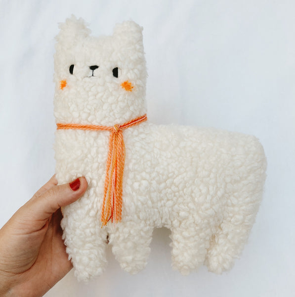 Pumpkin Latte the Alpaca - Organic