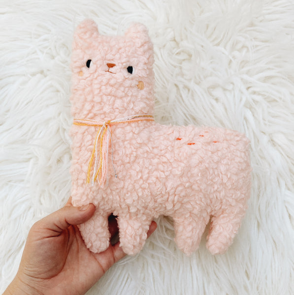 Bubblegum the Alpaca