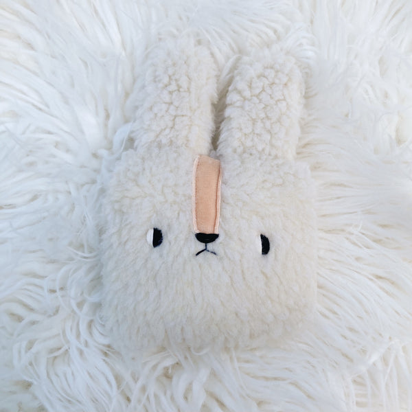 Marshmallow the bunny pillow