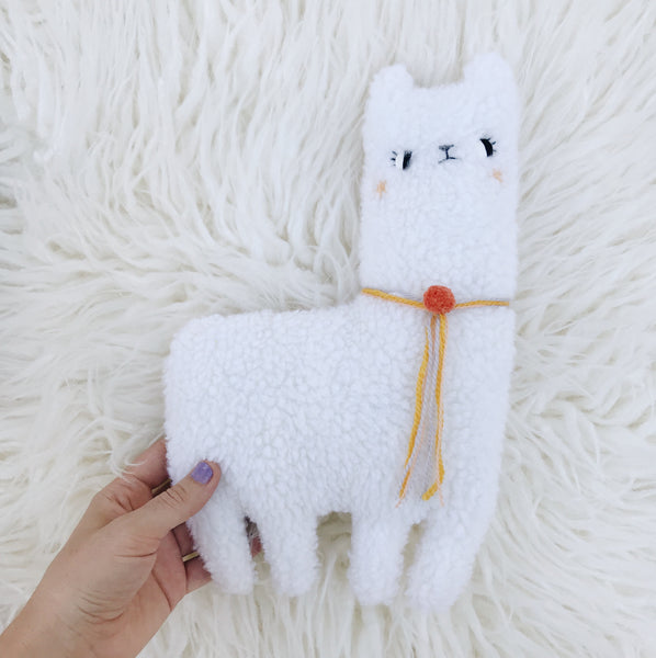 Chowder the Alpaca 〰️ Ready to Ship - sleepy king