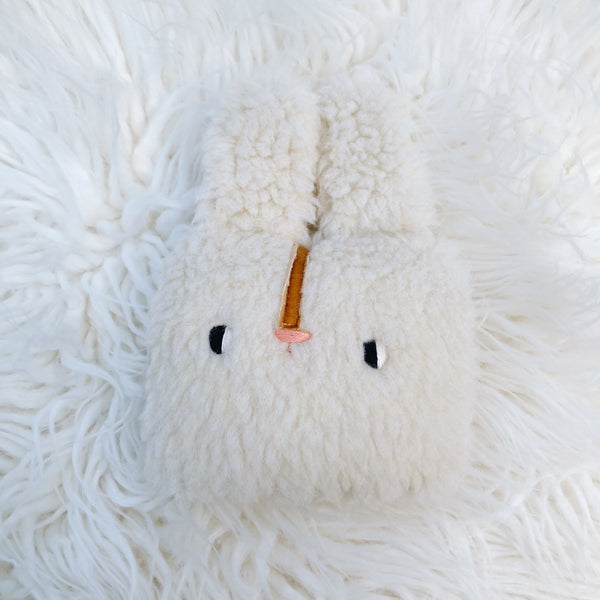 Sugar Puff bunny pillow